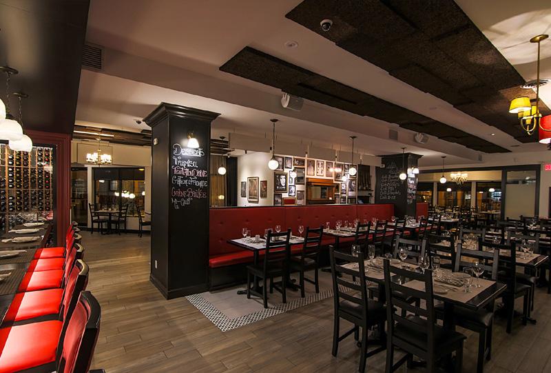 Restaurant St-Hyacinthe - PÉPÉ Trattoria-salle